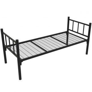 Кровать одноярусная КМ-1.51 COOL черная в Перми
