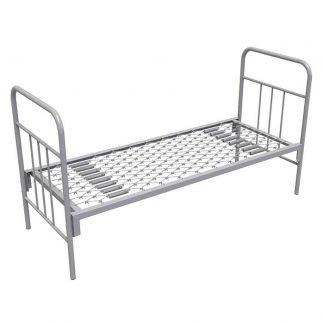 Армейская одноярусная кровать КА-1 в Перми с панцирной сеткой Пермь
