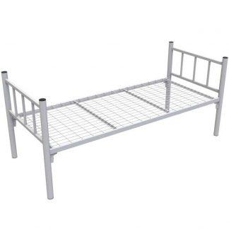 Кровать одноярусная КМ-1.51 COOL белая в Перми