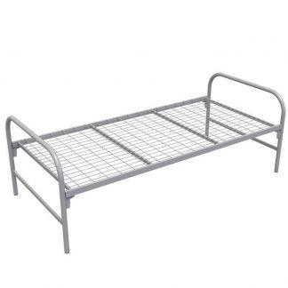 Кровать одноярусная широкая КМ-1.32/900 | Железная кровать Пермь