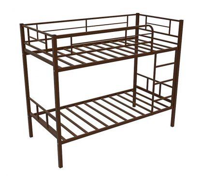 Кровать двухъярусная металлическая - СЕВИЛЬЯ-2 (Redford) КОРИЧНЕВАЯ