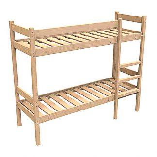 Двухъярусные деревянные кровати