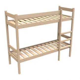 Кровать деревянная двухъярусная КД/2-1900*700 в Перми