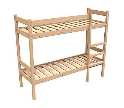 Кровать деревянная двухъярусная КД/2-1900*800 в Перми