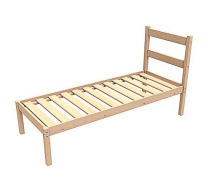 Кровать деревянная одноярусная КД/1-1900*700 Пермь