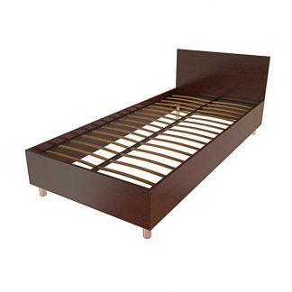 Кровать для гостиниц односпальная Т-401 из ЛДСП в Перми