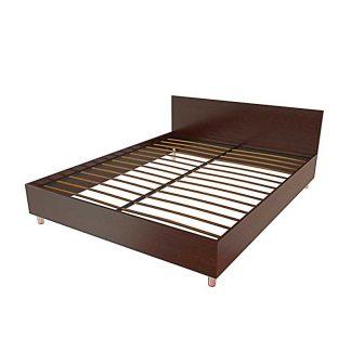 Кровать двухспальная в гостиницу Т-403 Пермь. Двухспальная, ЛДСП.
