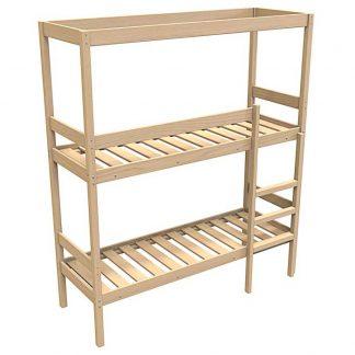 Кровать двухъярусная деревянная КД/2-ШТ-1900*700