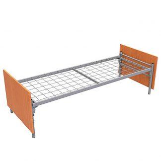 Кровать из ЛДСП на металлокаркасе МКДС-1/1900*700 Пермь