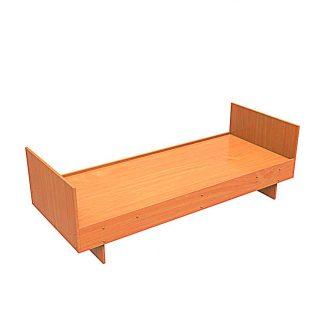 Кровать из ЛДСП односпальная ДС-1 Пермь. Купить кровать в Перми