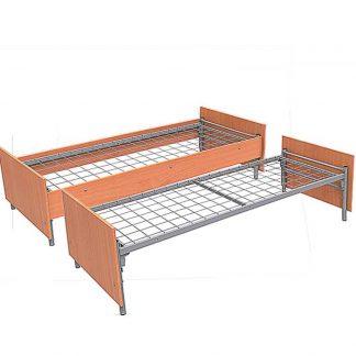 Кровати из ЛДСП на металлокаркасе