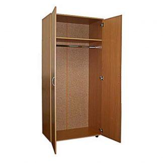 Шкаф для одежды двухстворчатый из ЛДСП ШД-22/450 в Перми