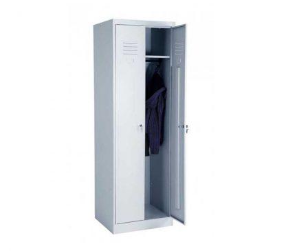Шкаф для одежды ШРК 22-600 в Перми. Для рездевалки. Железный.
