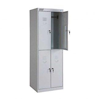 Шкаф металлический для одежды ШРК 24-600 в Перми, сборный цена