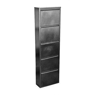 Шкаф для обуви - ОБ-5 (серебряный антик) купить в Перми