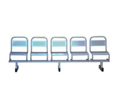 Секция стульев пятисекционная СМП-5 - Медицинская секция сидений - Пермь