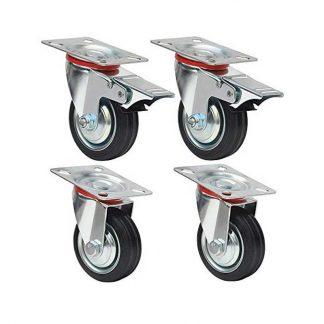 Комплект колес для медицинской кровати. Колёса для кровати - Пермь