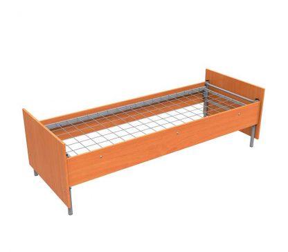Кровать с царгами из ЛДСП и металла - МКДС-1Ц/1900*700