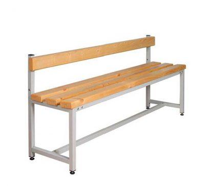 Скамейка для раздевалок со спинкой CК-1C-1500 - Пермь