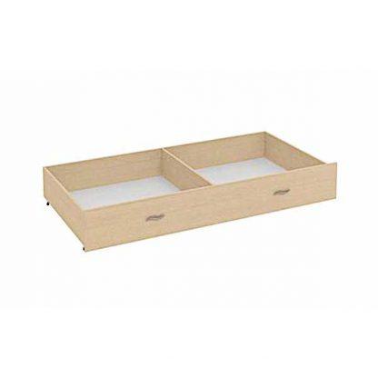 Ящик для кровати ГРАНАДА-1 выкатной, цвет ДУБ МОЛОЧНЫЙ