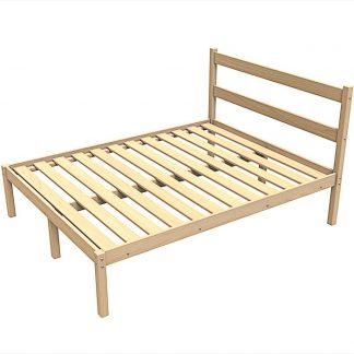 Одноярусные деревянные кровати