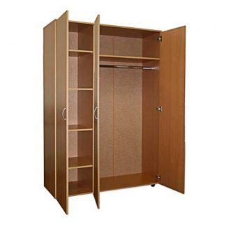 Шкаф трехстворчатый комбинированный из ЛДСП - ШДК-33/600