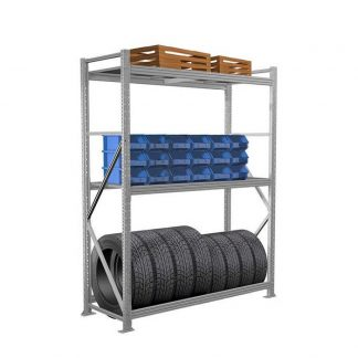 Стеллажи для хранения колес в гараже СШ-15