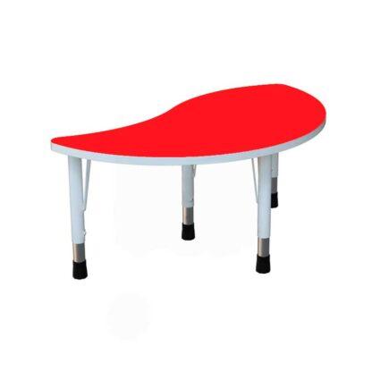 """Детский стол """"Капля"""" красный"""