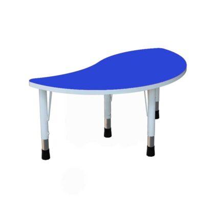 """Детский стол """"Капля"""" синий"""