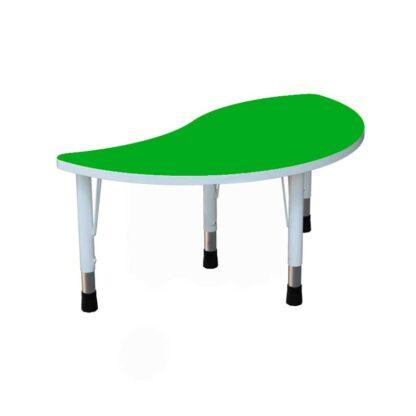 """Детский стол """"Капля"""" зеленый"""