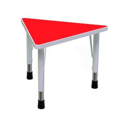 Стол детский «Треугольник» красный