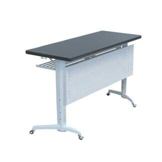 Стол ученический двухместный, складной, на роликах